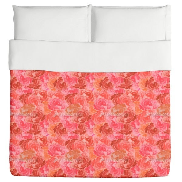 Covered with Roses Duvet Cover