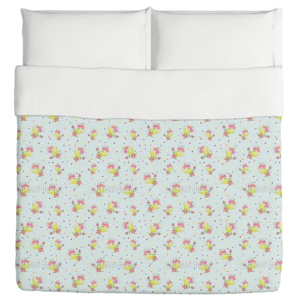 A Posy For You Duvet Cover