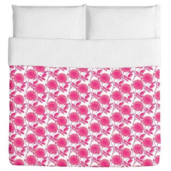 Roses in Full Bloom Duvet Cover