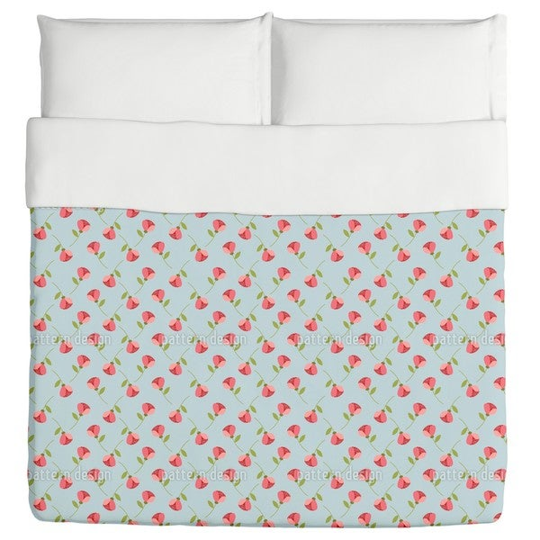 Tiny Roses Duvet Cover