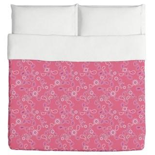 Paisley in Pink Duvet