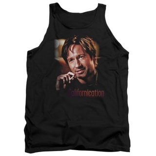 Californication/Smoker Adult Tank in Black