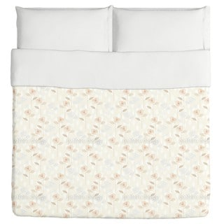 Rose Garden of the Fifties Duvet Cover