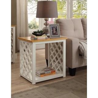 Convenience Concepts Cape Cod White Pine End Table