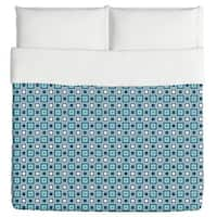 Retro Squares Are Cool Duvet Cover