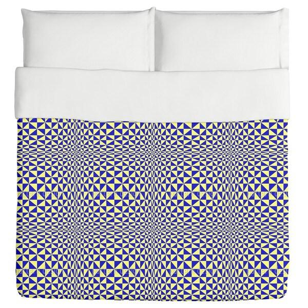 Triangular Geometric Duvet Cover