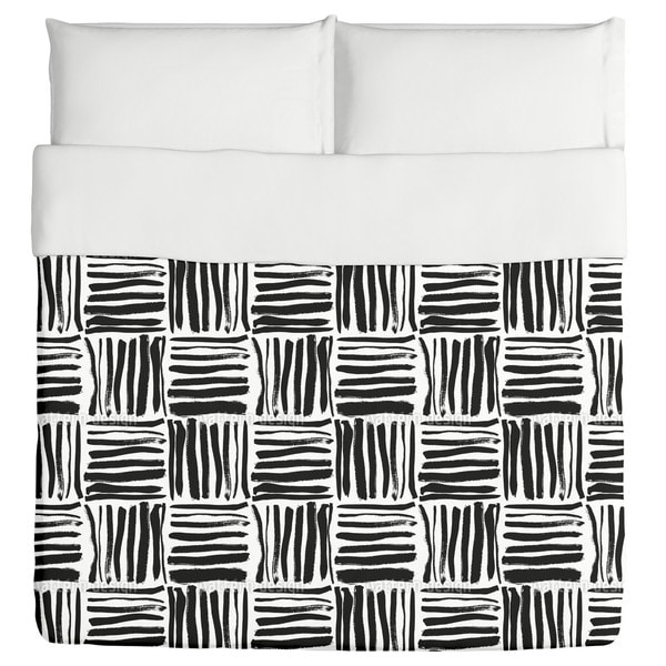 Painted Stripes Duvet Cover