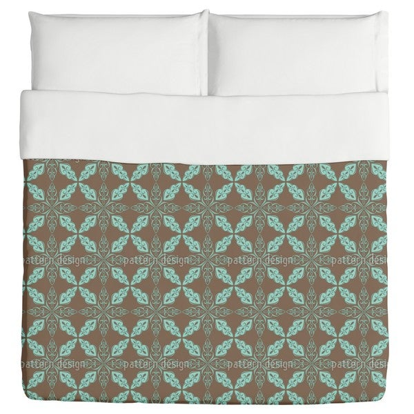 Moroccan Mint Duvet Cover
