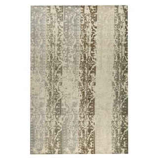 M.A.Trading Hand-woven Madison Silver/Beige (5'x8')