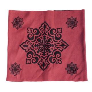 Women's Organic Cotton Fleece Lotus Printed Headband (Nepal)