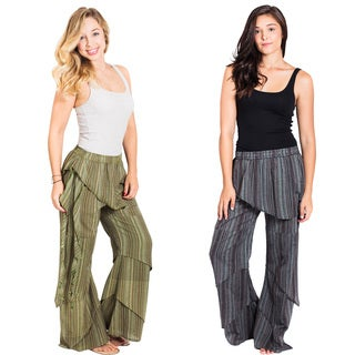 Vintage Vibes Layered Gypsy Pants (Nepal)