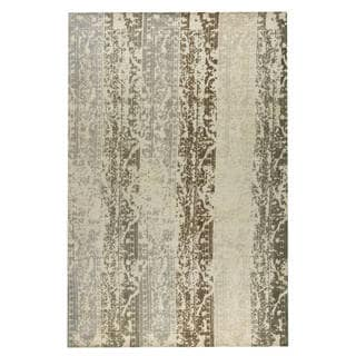 M.A.Trading Hand-woven Madison Silver/Beige (8'x10')