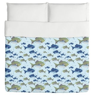 The North Sea Fish Duvet Cover