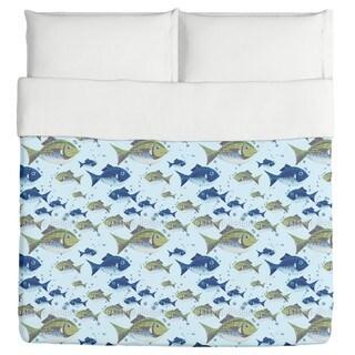 The North Sea Fish Duvet Cover