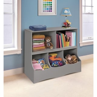 Badger Basket White Wood Multi-bin Storage Cubby & Buy Kidsu0027 Storage u0026 Toy Boxes Online at Overstock.com | Our Best ...