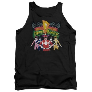 Power Rangers/Rangers Unite Adult Tank in Black