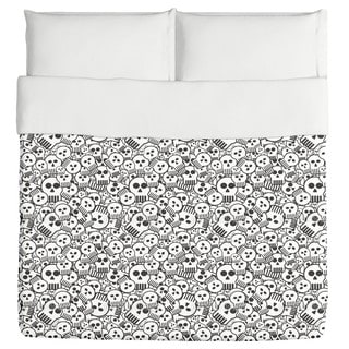 Come Sweet Skull Duvet Cover