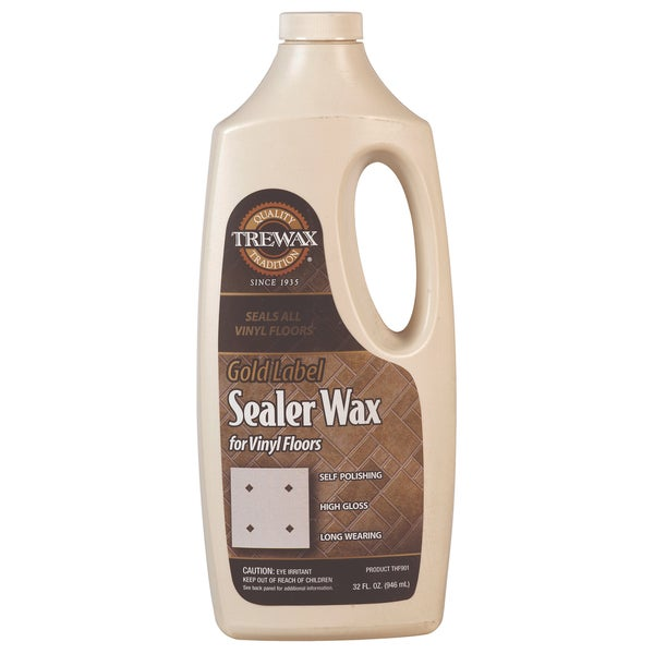 Shop Trewax 887135027 Gold Label Sealer Wax Free