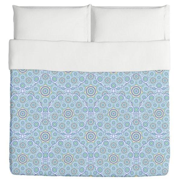 Geometric Mandala Duvet Cover