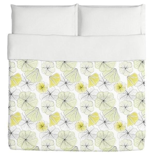 Hibiscus Blossoms Duvet Cover