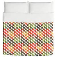Zigzag Objects Duvet Cover