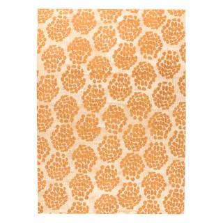 M.A.Trading Hand-woven Midland Beige/Orange (5'x8')