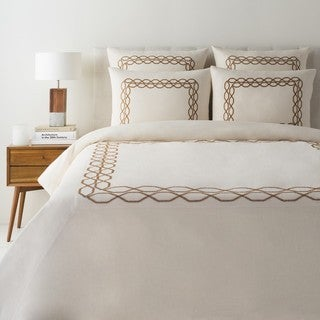 Akio Linen/Cotton Duvet Cover Set