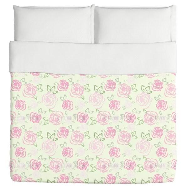 Little Roses Duvet Cover