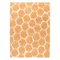 M.A.Trading Hand-woven Midland Beige/Orange - 9' x 12'