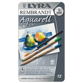 Lyra 2011120 Rembrandt Aquarell Artists Colored Pencils Assorted 12 Count|https://ak1.ostkcdn.com/images/products/12534830/P19338723.jpg?impolicy=medium