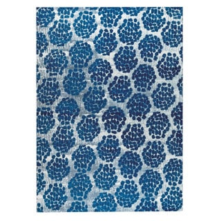 M.A.Trading Hand-woven Midland Blue (4'x6')