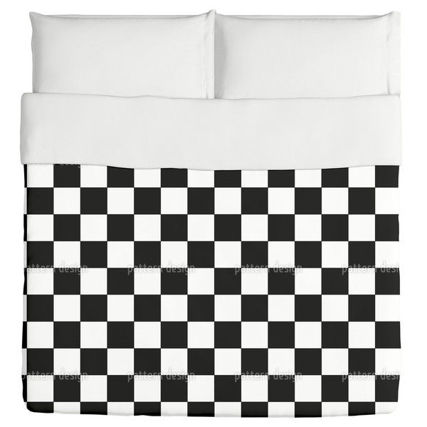 Checkmated Duvet Cover