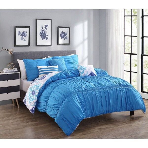 Maddy 6-Piece Reversible Comforter Set