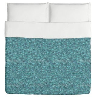 The Mermaids Gentle Swell Duvet Cover