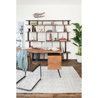 Aurelle Home Rustic Bookshelf