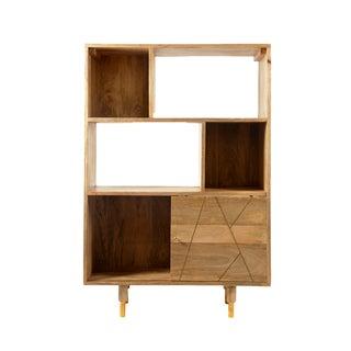 Aurelle Home MID CENTURY Modern Storage Bookshelf