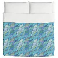 Rusalkas Braided Hair in the Morning Duvet Cover