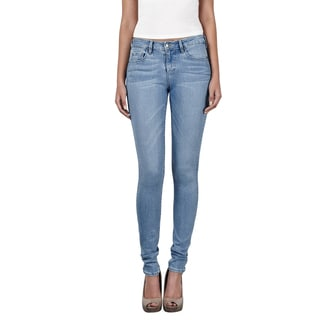Hidden Amelia Women's Light-wash Skinny Denim Jeans