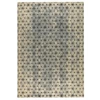 M.A.Trading Hand-woven Modesto Beige/Grey - 4' x 6'