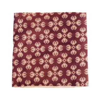 Handmade Women's Organic Cotton Dorge Printed Active Headband (Nepal) (Option: Plum)