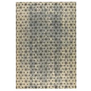 Handmade M.A.Trading Modesto Beige/Grey (India) - 8' x 10'