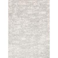 "Microfiber Verona Grey Paisley Rug (2'7 X 4') - 2'7"" x 4'"