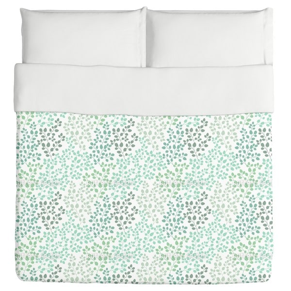 Leaf in the Wind Duvet Cover