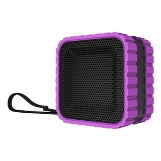 Coleman AktivSounds CBT14 Black and Blue Waterproof Bluetooth Cube Speaker (Option: Purple)