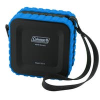 Coleman AktivSounds CBT14 Black and Blue Waterproof Bluetooth Cube Speaker