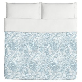 The Garden of Poseidon Duvet Cover