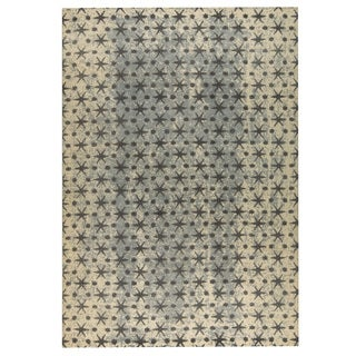 M.A.Trading Hand-woven Modesto Beige/Grey (9'x12')