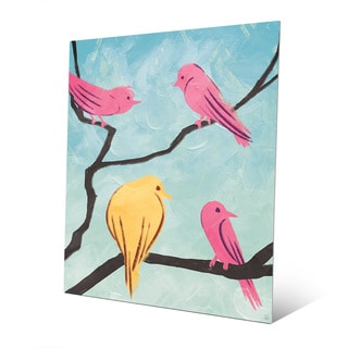 Bird School Recess Metal Wall Art