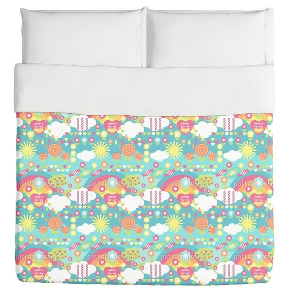 Sweet Candy Duvet Cover