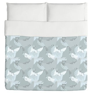 The Journey of the Blue Butterflies Duvet